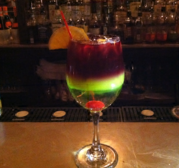 Layered Red Sangria 2